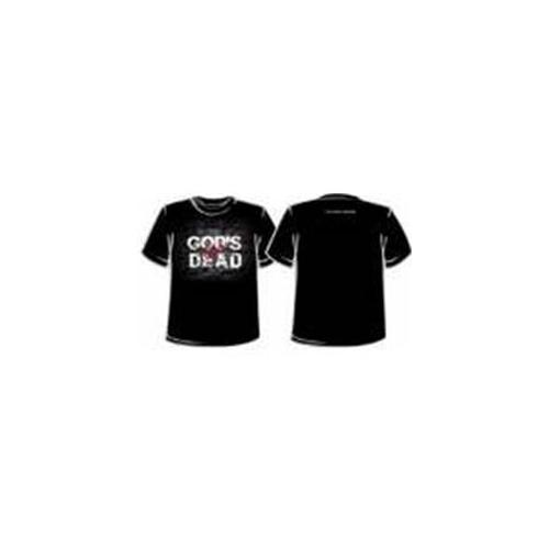 Image of Tee Shirt-God's Not Dead-Small-Black (Mens)