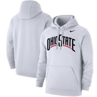 Ohio State Buckeyes Nike Logo Pullover Hoodie - White