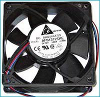 AFB1212SHE-CF00 Delta AFB1212SHE-CF00 Cooling Fan, Ball 08GP46183KR Storm Support Server 40mm brushless GTX Black 110... by 1st PC Corp.