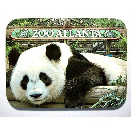 Zoo Atlanta with Panda Photo Fridge Magnet