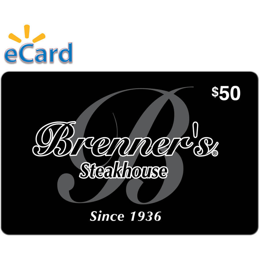 Brenner's Steakhouse $50 Card (Email Delivery)