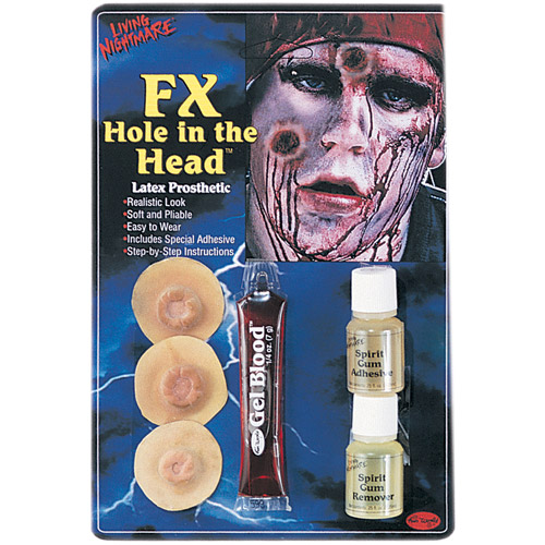 Hole in Head FX Kit Halloween Accessory