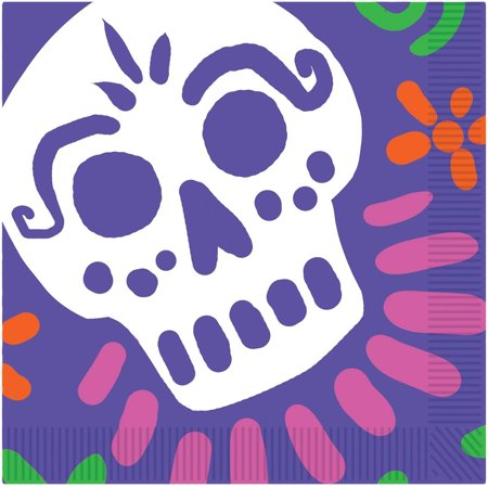 Easy Halloween Lunches (Day of the Dead Luncheon Napkins Halloween)