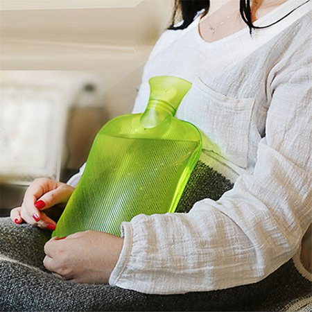 Large PVC Rubber HOT WATER BOTTLE Bag WARM Relaxing Heat / Cold Therapy 2 Liter Today's Special - Hot Water Rubber