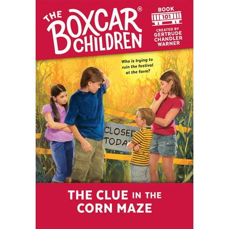 The Clue in the Corn Maze (Corn Maze Halloween)