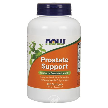 Now Foods Prostate Support, 180 gel, Pack of 2 (Now Prostate Support)