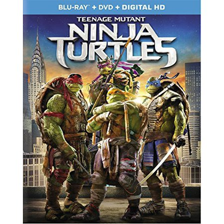 Teenage Mutant Ninja Turtles (Blu-ray + DVD) (Teenage Mutant Ninja Turtles Fast Forward Episodes)