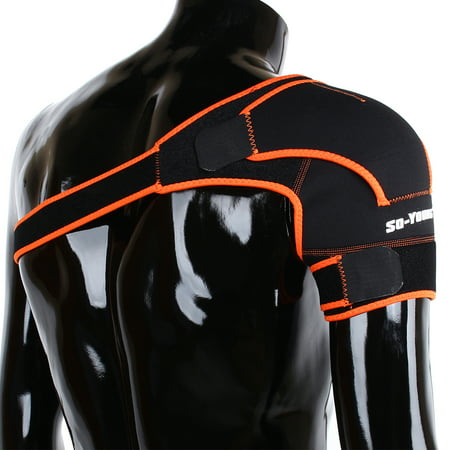 Adjustable Compressor (Tbest Adjustable Shoulder Support Brace Strap Joint Sport Gym Pain Relief Compression Bandage Wrap Shoulder Bandage,Shoulder)