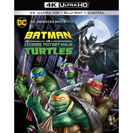 Batman vs  Teenage Mutant Ninja Turtles (4K Ultra HD + Blu-ray)