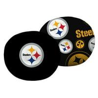 "NFL Pittsburgh Steelers 11"" Cloud Pillow, 1 Each"