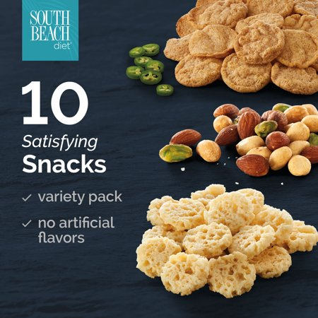 South Beach Diet Savory Snack Variety Pack, 10 Ct