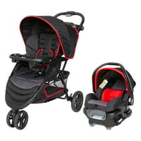 Baby Trend Mars Red EZ Ride Travel System