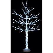 Autograph Foliages L-140080 5 ft. LED Ice Tree, White