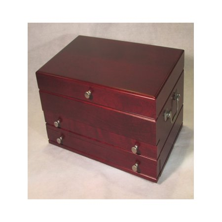 509507ca1 American Chest - First Lady Wooden Jewelry Box - Walmart.com