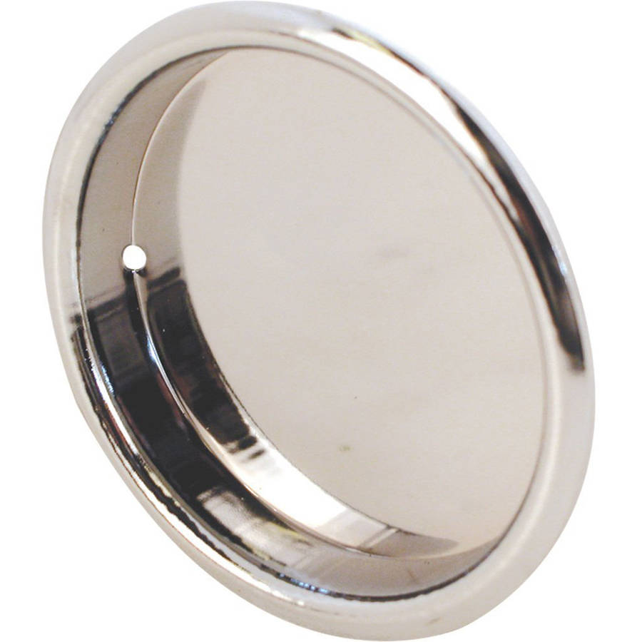 Prime-Line Products N 6869 Closet Door Pull Handle, 2-1/8-Inch Round, Chrome Plated,(Pack of 2)