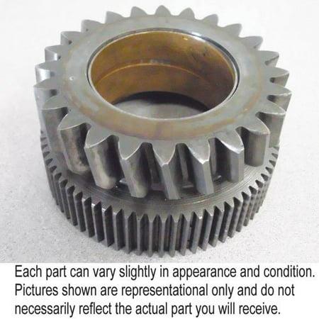 Input Pinion (Transmission Input Pinion Gear, Used, Massey Ferguson,)
