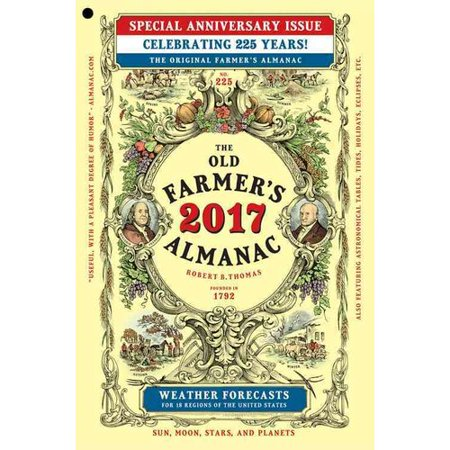 The Old Farmers Almanac 2017