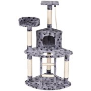 Gymax 48`` Cat Tree Kitten Activity Tower Furniture Condo Perches Scratching Posts Rope