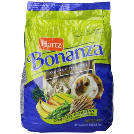 Guinea Pig Halloween Treats (Hartz Bonanza Guinea Pig Diet Complete Nutrition, 4.0)