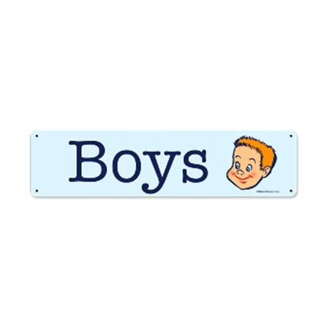 Past Time Signs RPC152 Boys Home And Garden Metal Sign, 20 W X 5 H In. - image 1 de 1