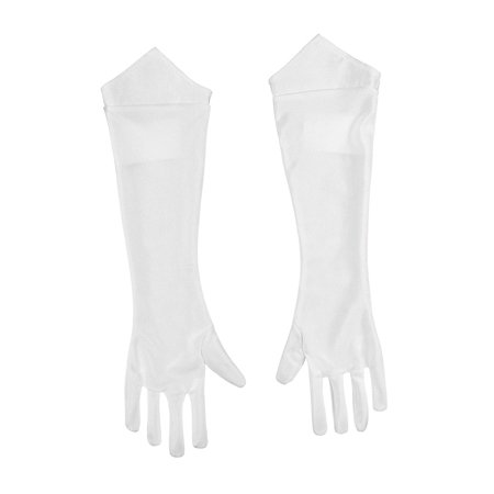 Adult Super Mario Princess Peach Gloves by Disguise 73788 - Super Mario Gloves