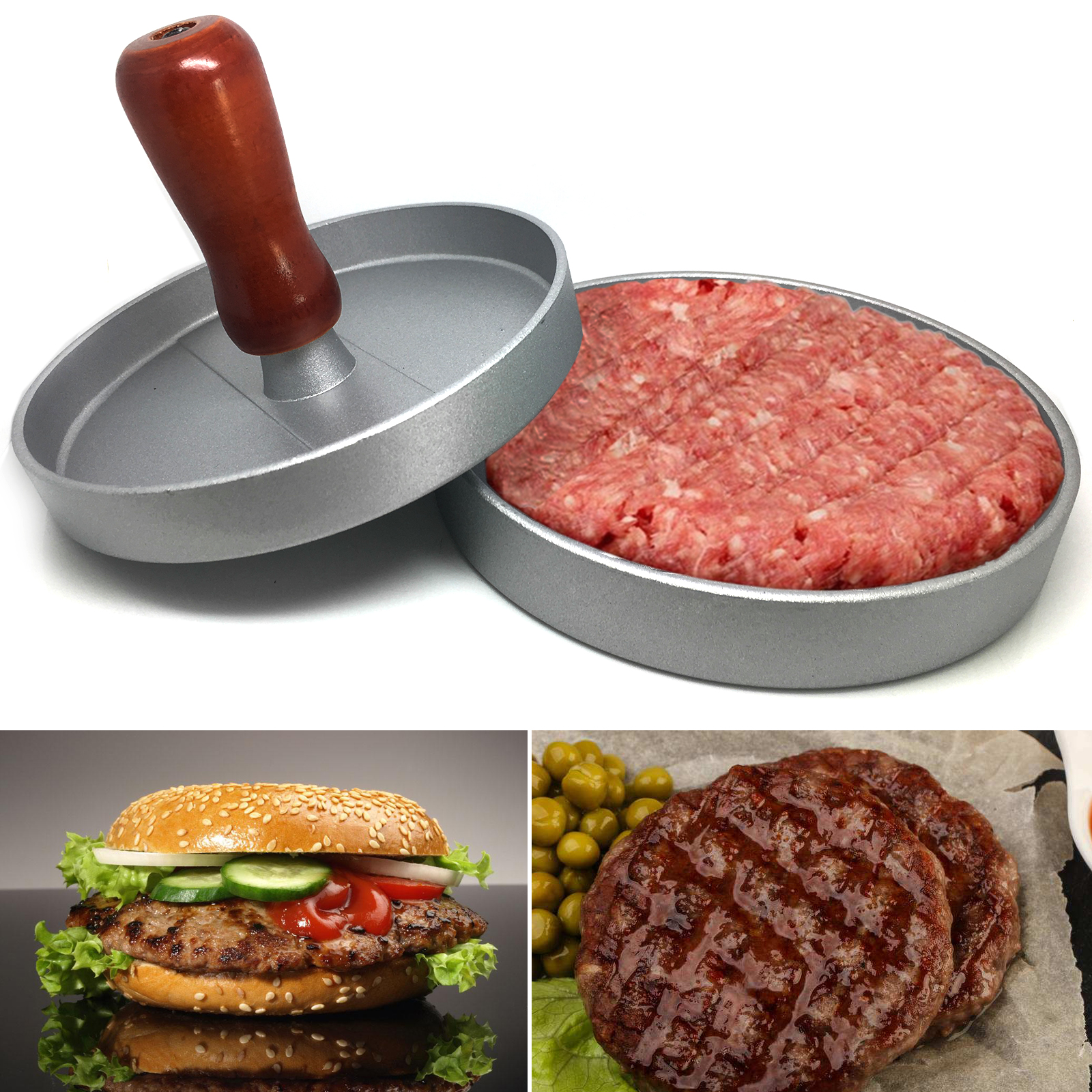 latex mould for making THIS UNIQUE BURGER