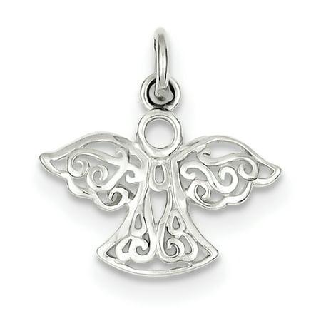 Sterling Silver Filigree Angel - Filigree Charm
