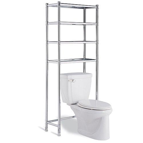 Neu Home Hudson 4-Shelf Space Saver, Chrome - Walmart.com