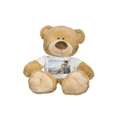 Navy Infant Teddy Bear - Photo Teddy Bear