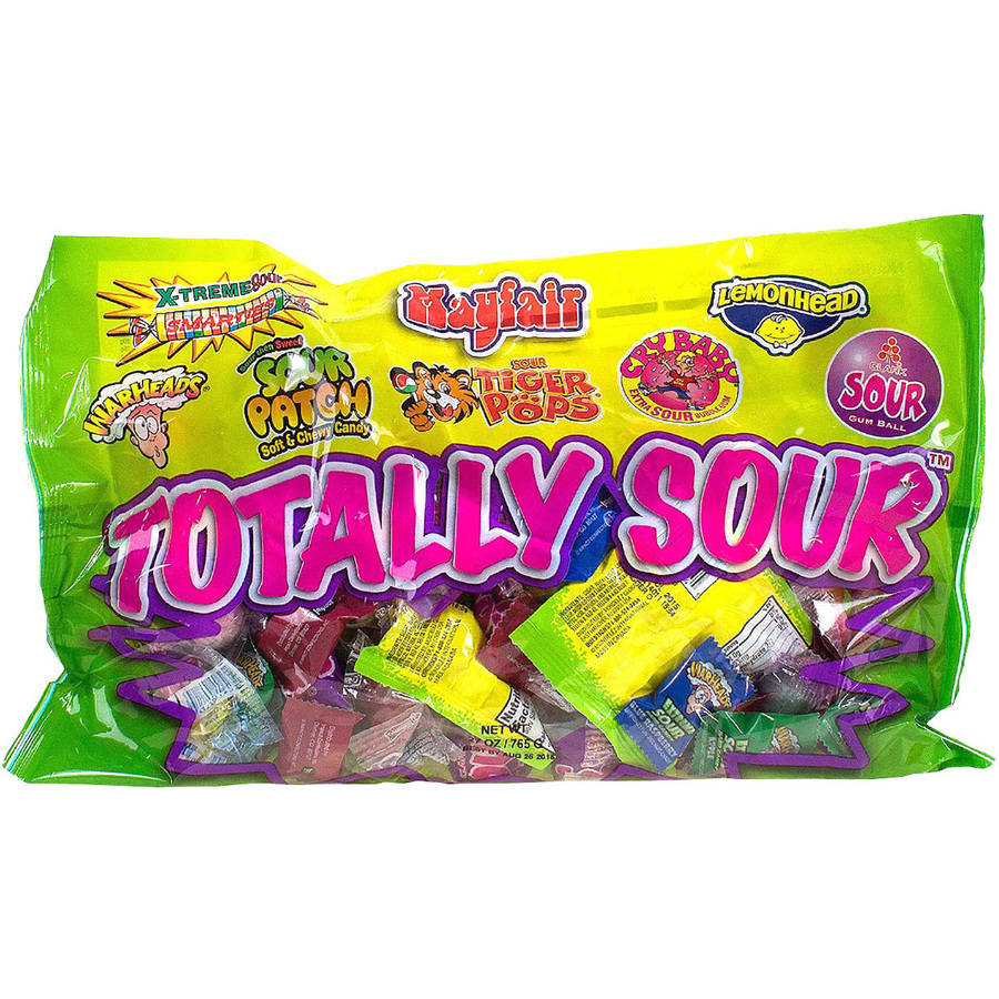Mayfair Totally Sour Candy Mix, 27 oz