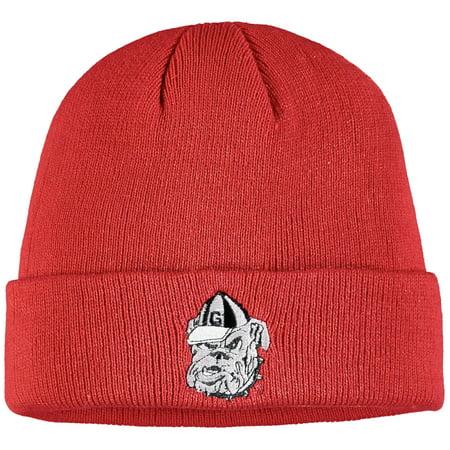 Youth Red Georgia Bulldogs Mass Cuffed Knit Hat - OSFA Georgia Bulldogs Red Light