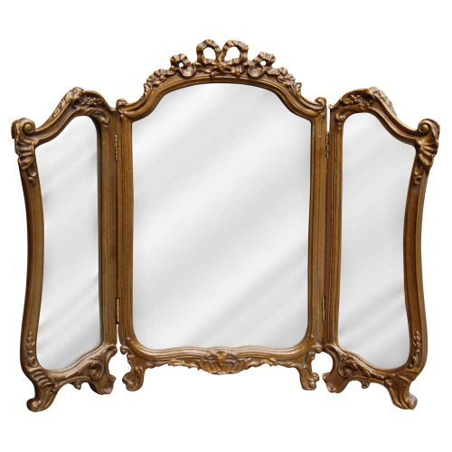 Hickory Manor House Tri Fold Vanity Mirror - 26.75W x 31.5H in.