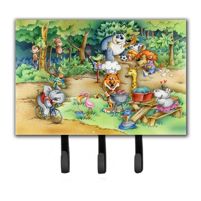 Carolines Treasures APH6821TH68 Animals at a Picnic Leash or Key Holder - image 1 de 1