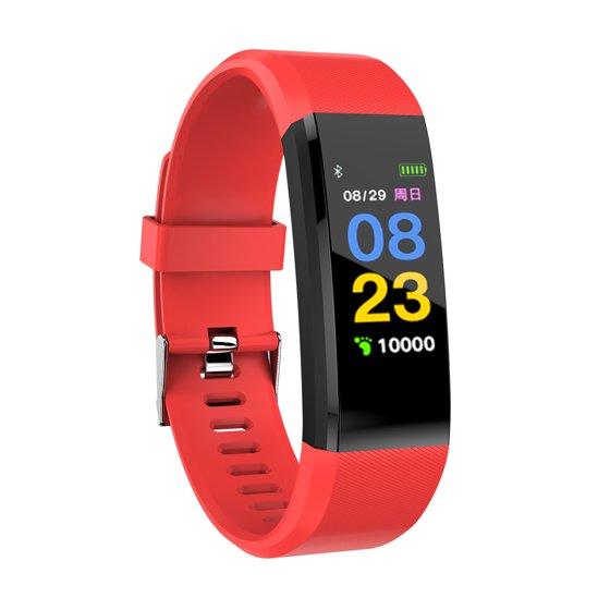 Color Burst Smart Fit OLED Watch With GPS Trail Tracker