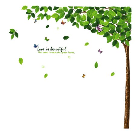 Tree Pattern PVC Removable Wall Sticker Art Mural Decal Wallpaper