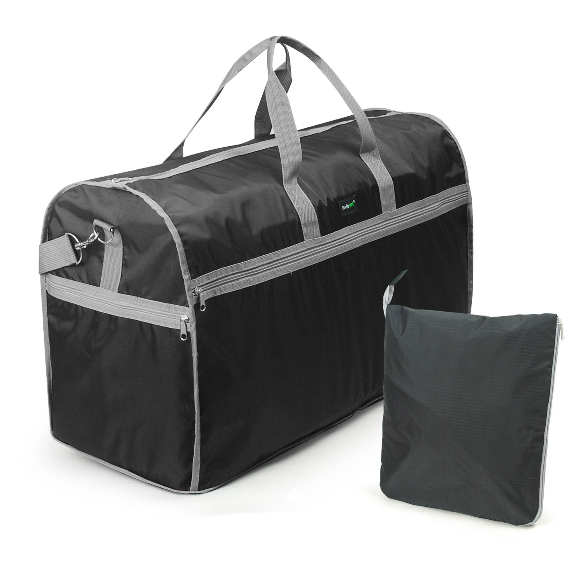 Lavievert Foldable Travel Duffle Bag Attached to Luggage