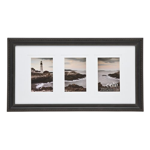 Philip Whitney 3 Opening Double Matte Kingston Picture Frame
