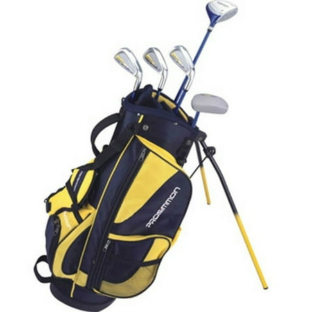 Prosimmon Icon Junior Golf Club Youth Set & Stand Bag for kids ages 8-12 RH ()