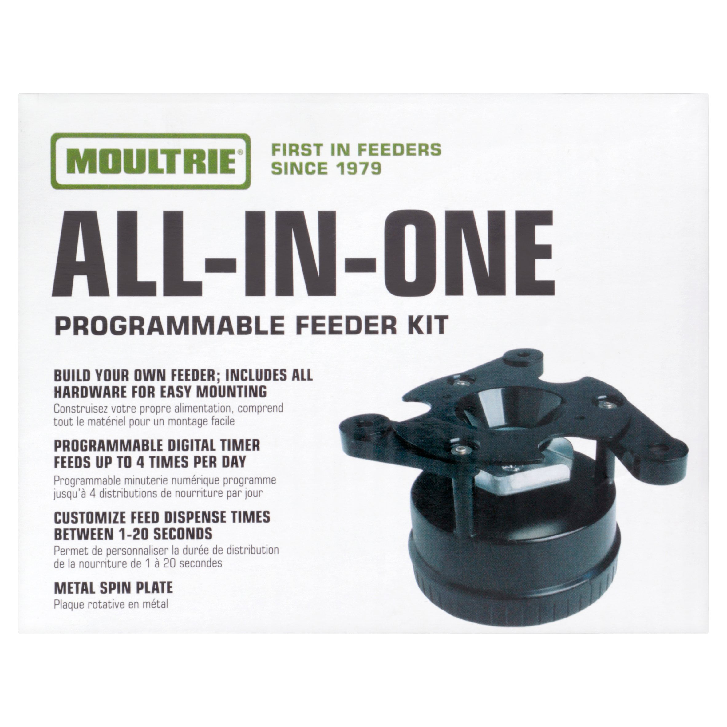 feeder heavy duty feeders game timer and with pin deer feed medusa