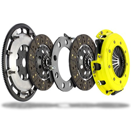 Race Disc Clutch - ACT 2011 Ford Mustang Twin Disc MaXX XT Race Kit Clutch Kit