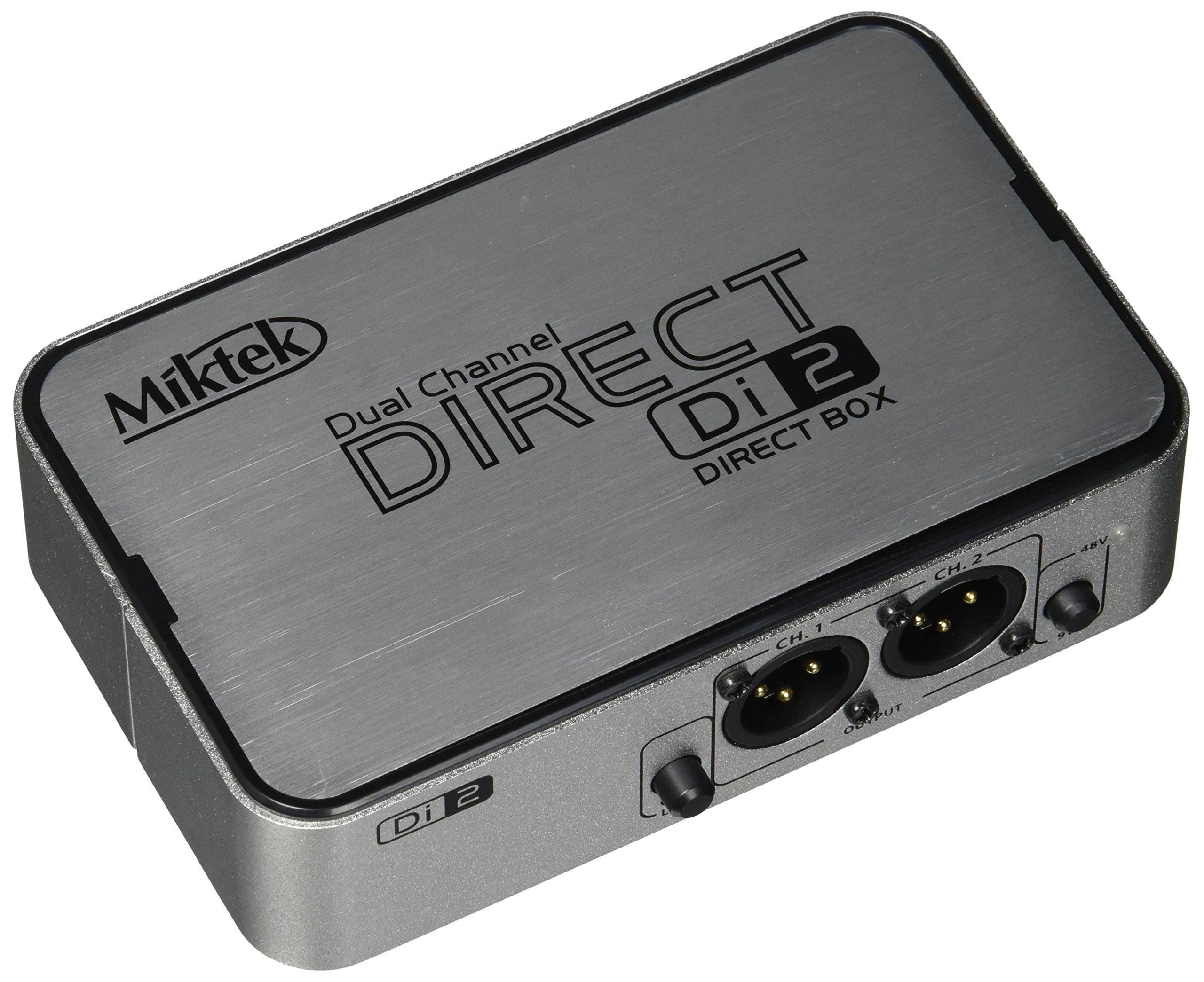 Mitek DI2 Miktek 2channel Active Direct Box by Mitek