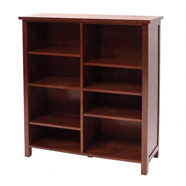 DonnieAnn 608922 Oakdale Double Bookcase, 48. 5 inch