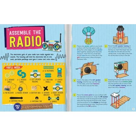 Maker Lab Radio Boombox-