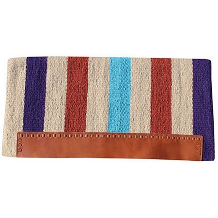 Professionals Choice Saddle Blanket Striped Wool NB4