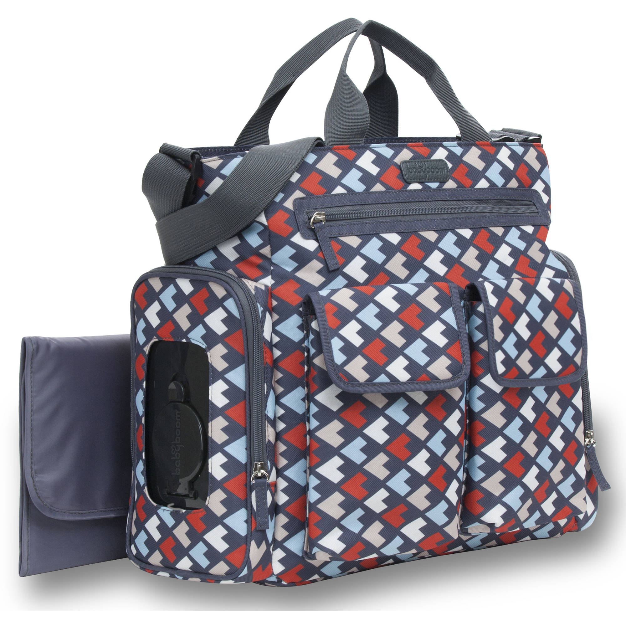Baby Boom Multi Geo Tote Diaper Bag by Baby Boom