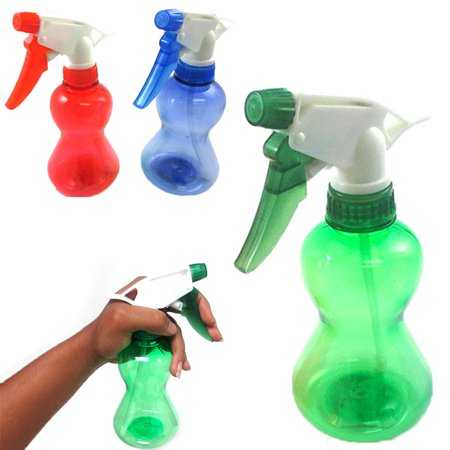 1 Plastic Empty Spray Bottle 12 Oz Mist Sprayer Hair Salon Tool Product Solution (Fog Free Spray Solution)
