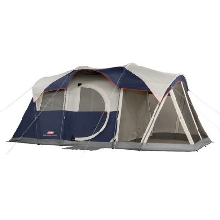 3 Season Solo Tent (Coleman Elite WeatherMaster 6-Person Lighted Tent with Screen Room )