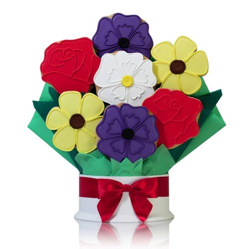 Corso's Cookies Wild Flowers Cookie Bouquet