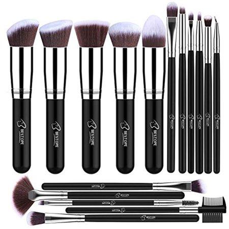 01df0c7eedbc Makeup Brushes 16 PCs Makeup Brush Set Foundation Brush Blending ...