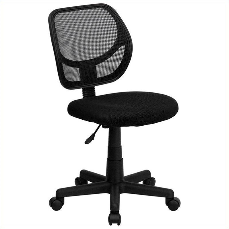 Flash Furniture Mid-Back Black Mesh Task and Computer Office Chair - image 2 of 3